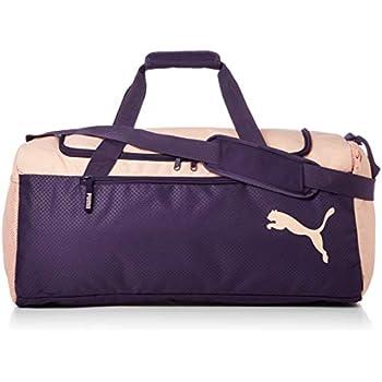 e1db1f160 Puma Fundamentals Sports Bag M Bolso, Unisex Adulto, Morado (Indigo/Peach  Bud