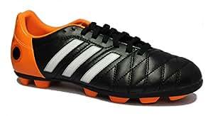 adidas Enfants Came Fussballschuhe 11Questra TRX HG J Noir/Orange, 0