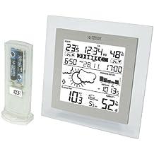 La Crosse Technology WS9257IT - Stazione meteorologica completa, colore: Trasparente/Alluminio