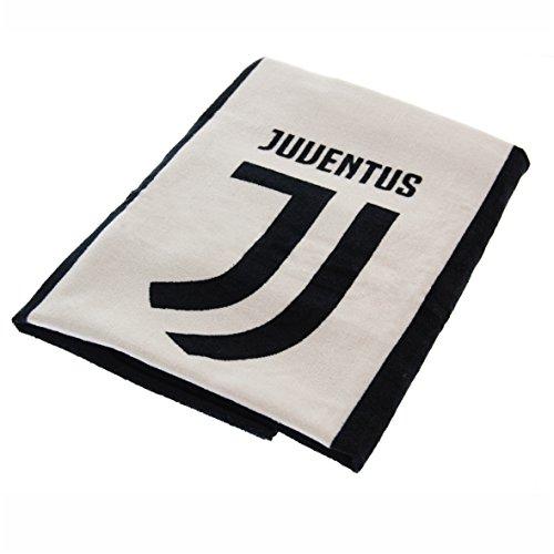Juventus asciugamano ufficiale f.c 2018 nuovo logo telo mare juve spugna puro cotone 70x140 cm