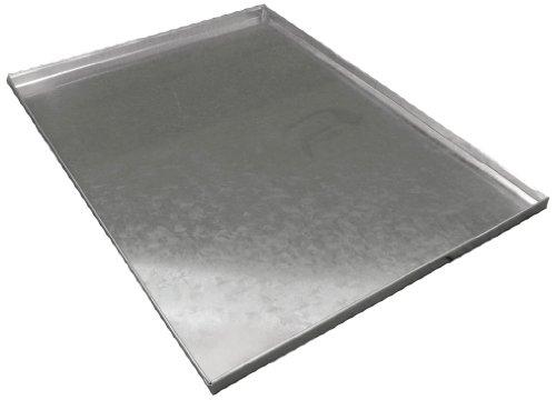 Ellie-Bo vassoio di metallo di ricambio per cani gabbia Crate Extra Large d'argento da 42 pollici