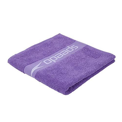 Speedo Unisex-Adult Handtuch Bordüre, Ultraviolett/Hard Candy, Einheitsgröße
