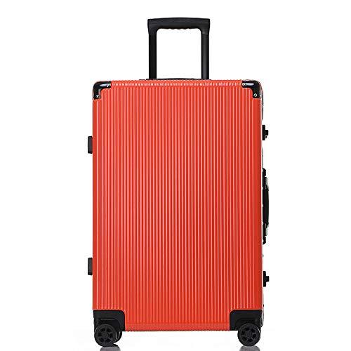 Hardside Business Cases (HX~luggageTravel Case Business Aero Hardside Gepäck mit Spinner Wheels Heels Frischer und einfacher Stil für Mode für Frauen und Männer,Red,40 * 27 * 66CM)