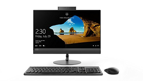 Lenovo 520 22IKU AIO 21.5-inch All-in-One Desktop (6th Gen Core i3-6006U/4GB/1TB/DOS/Integrated Graphics), Black