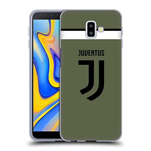 Head Case Designs Offizielle Juventus Football Club Third 2017/18 Race Kit Soft Gel Huelle kompatibel mit Samsung Galaxy J6 Plus (2018) - Soft Case Kit
