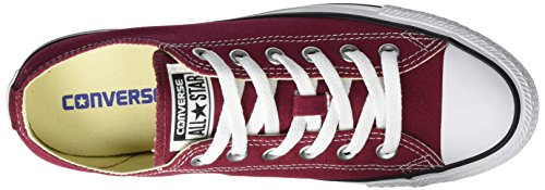 Converse Chuck Taylor All Star, Sneakers Unisex - Adulto Rosso (Bordeaux)