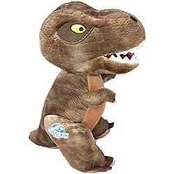 Jurassic World Dinosaur 30cms Plush Soft Toy (Brown T Rex)