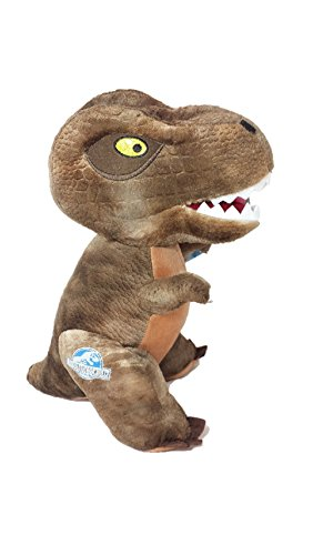 Jurassic World Dinosaur 30cms Plush Soft Toy (Brown T Rex)