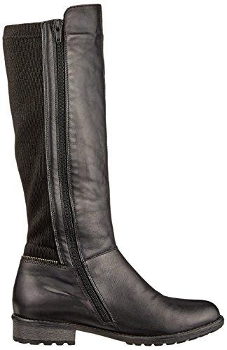 Remonte R3325, Stivali da Equitazione Donna Nero (Schwarz/schwarz/schwarz)