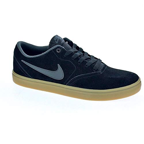 b678ea07fec Nike SB Check Solar - Zapatillas Bajas Hombre Negro Talla 43