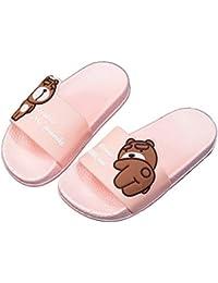 a7ee0d0c5b6 Boys Girls Cute Bathroom Slipper Kids Classic Beach Slippers Slide Sandals  Pool Shoes Soft Flip Flops