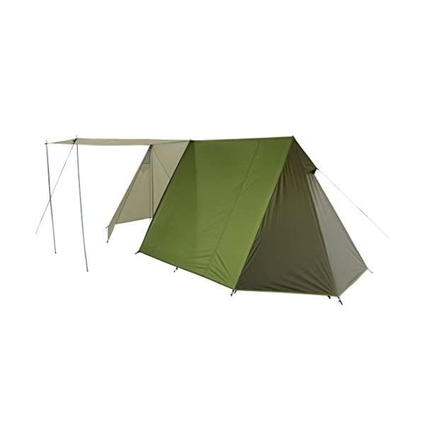 10T Outdoor Equipment Waterproof Mungaro Unisex Outdoor Frame Tent available in Grey - 3 Persons 5