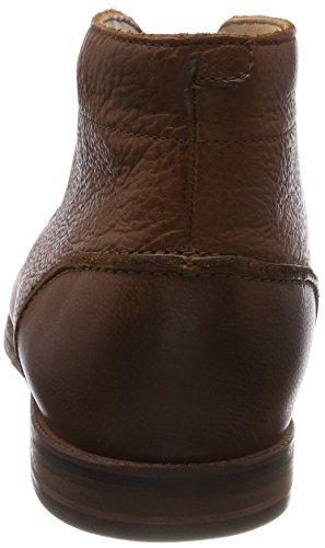 Clarks Broyd Mid, Stivali Classici Uomo Marrone (Tan Leather)