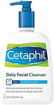 Cetaphil Daily Facial Cleanser for normal to oily skin 16 Ounce