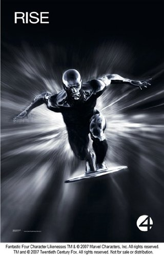 Fantastic Four: Rise of the Silver Surfer Movie Poster (27,94 x 43,18 cm)