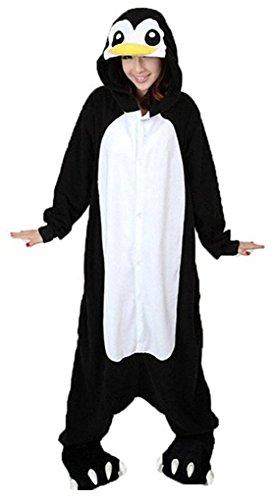 Auspicious beginning Animal Unisex pijamas de Halloween del mono de la panda vaca dinosaurio pingüino