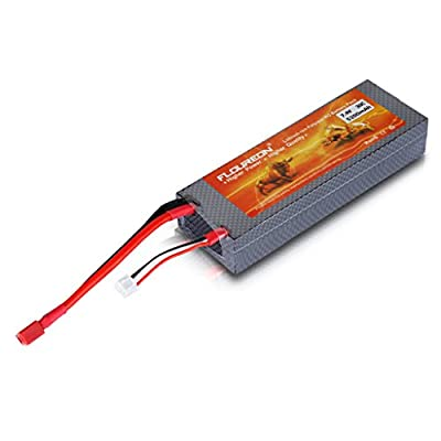 FLOUREON® High Quality 7.4V 5200mAh 2S 30C Lipo RC Battery for RC Evader BX Car Truck Truggy RC Hobby RC Airplane RC Boat