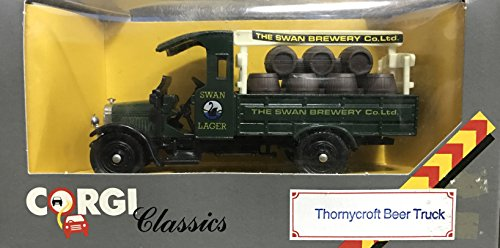 vintage-corgi-classics-1986-swan-brewery-co-ltd-swan-lager-thornycroft-beer-truck-diecast-replica-no