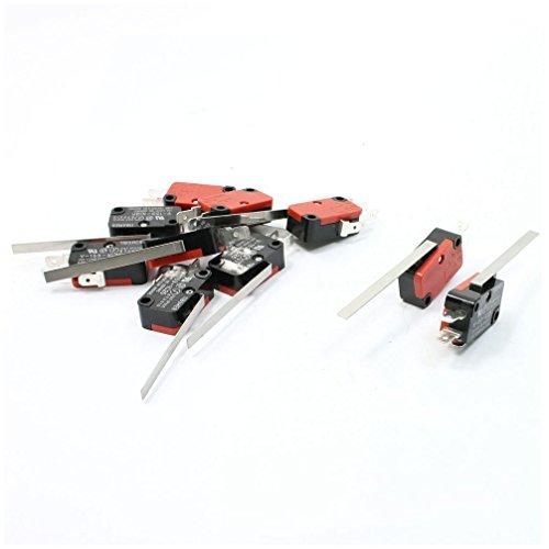 Interruptor micro - SODIAL(R) 10 x Micro Interruptor de accion rapida del...