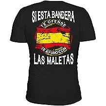 TEEZILY Si Esta Bandera te ofende te ayudo con Las Maletas