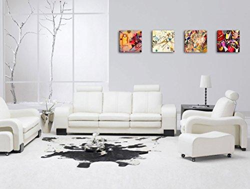 Quadri Moderni Per Ufficio : Quadri moderni kandinsky pz cm cad stampa su tela canvas