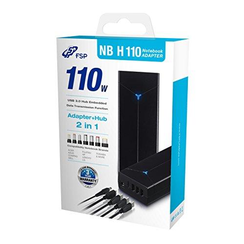 Alimentatore notebook Fortron 95W H 110 3-Porte USB3-Hub 95W/15W [PNA1100101]