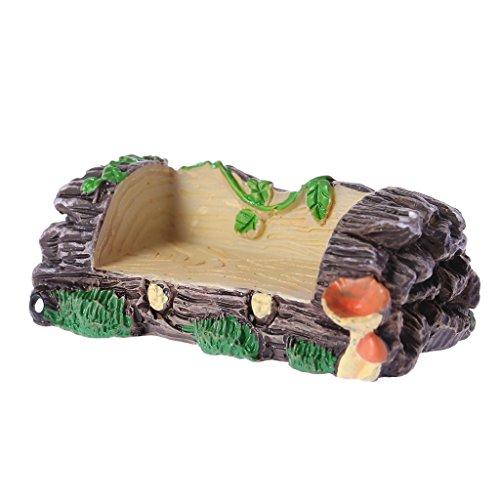 yaonow Mini Garden Bench Kunstharz, 5,8x 2,1cm 2 B