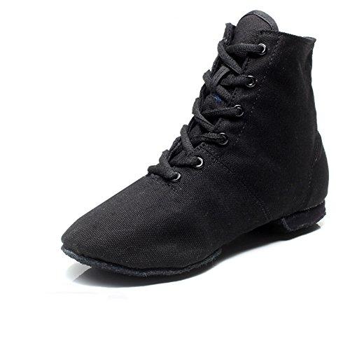 Stiefel Jazz/ Hi-Soft Ballerina Schuhe/Body Bodybuilding Übung Leinenschuhe für Damen und Herren B