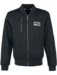 Star Wars Reversible Jacket Veste de survêtement gris/noir