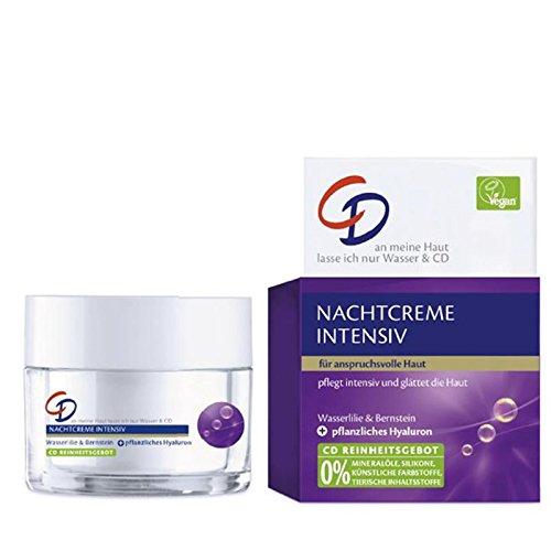 CD Nachtcreme Intensiv 50 ml Pflegt & glättet anspruchsvolle Haut