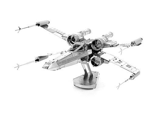 bazaraz-1947-mini-figure-modellino-3d-in-metallo-astronave-spaziale-xw-da-montare-curata-dei-dettagl