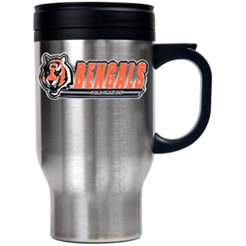 Cincinnati Bengals 16 oz. Thermo Travel Mug by Great American Products