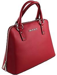 Armani Jeans - Bolso de asas de Material Sintético para mujer rojo rojo B 26 x H 34 x T 11