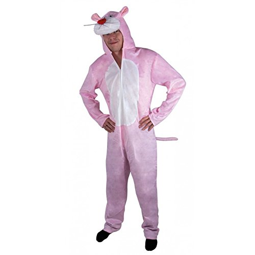 P 'tit Clown 10228Kostüm Erwachsene Plüsch (Kostüme Panther Pink)