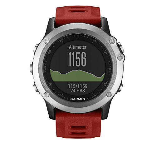 Garmin Fénix 3 - Reloj multideporte con GPS diseñado para resistir,