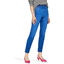 FIND Women's Mom Jeans High Waist Cropped Jeans