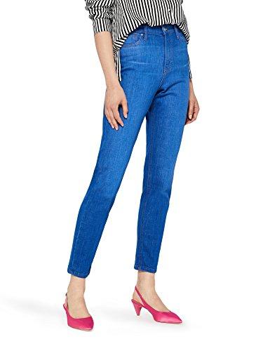 find. NEWSTW050 high waist jeans, Blau (Bright Vintage), W31/L32 (Herstellergröße: 38/40)