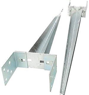KOTARBAU Garagenschloss 60 mm Stahl Torschloss Garagentorschloss Profilzylinder f/ür Schwingtore Tortreibriegel Torverschluss Garage Verschluss