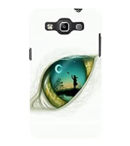 printtech Eye Girl look View Back Case Cover for Samsung Galaxy Quattro i8552::Samsung Galaxy Quattro Win i8552