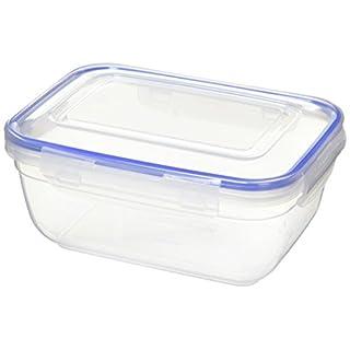 ALPFA Food Storage Box Rectangular 1400ml, White, 20 x 25 x 25 cm