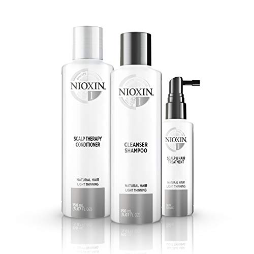 Nioxin System 1 Starter Set - für naturbelassenes Haar, 350 ml -