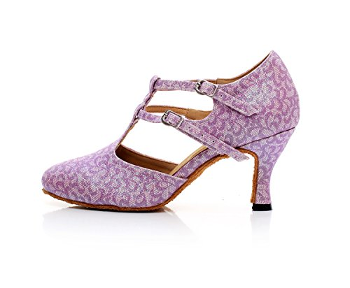 Minitoo - Ballroom donna Light Purple-7.5cm Heel