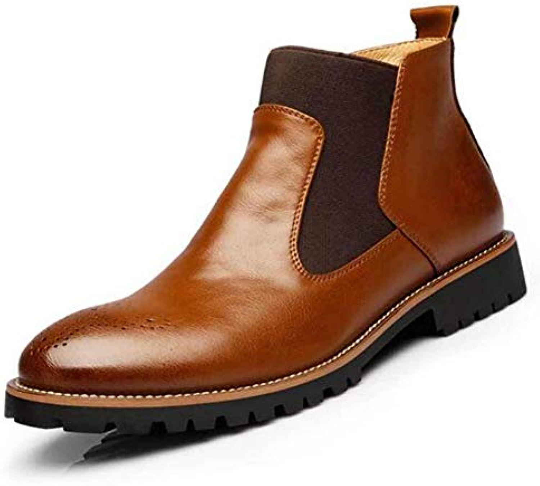 Stivaletti per Uomo Inverno Stivali Martin Slip-on Stivali Chelsea | Clienti In Primo Luogo  | Scolaro/Signora Scarpa