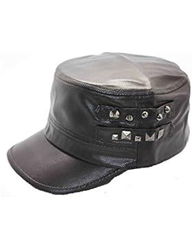 Mai Dou Mujer Poliéster PU Liu Ding Moda Caliente Marea Caliente Otoño Invierno Hat