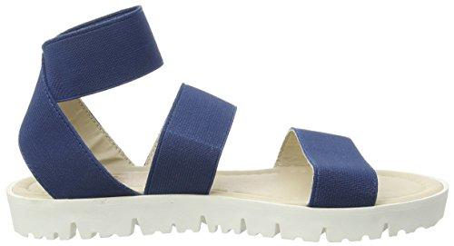Spot OnElastic Strap Tread Sole - Sandali donna Blu (Blu (Navy))