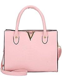 Gaddrt Sac à bandoulière en cuir Celebrity Tote sac de voyage grand pour femmes dames (Rose) fZcFXNZY