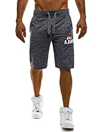 93c119ea0171 OZONEE Herren Jogg Freizeitshorts Sportshorts Knielang Kurze Hose Shorts  Bermudas J.Style AK01