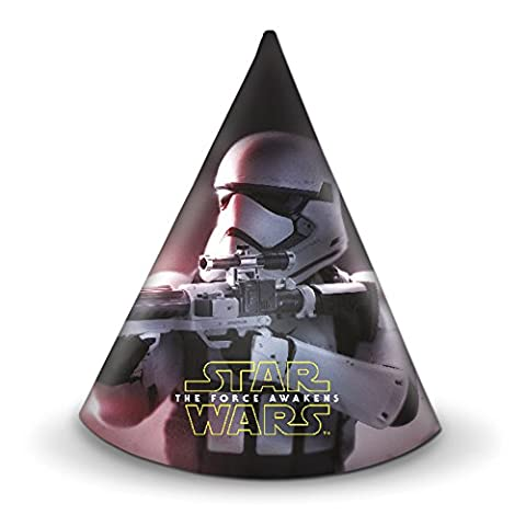 Star Wars 7 Party Hats, Pack of 6