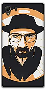 The Racoon Lean The One who Knocks hard plastic printed back case / cover for Sony Xperia Z1