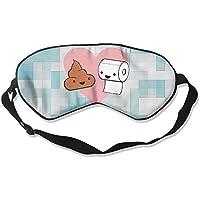Cute Poop & Toilet 99% Eyeshade Blinders Sleeping Eye Patch Eye Mask Blindfold For Travel Insomnia Meditation preisvergleich bei billige-tabletten.eu